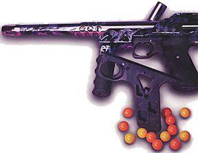 Paintball Gun Frame