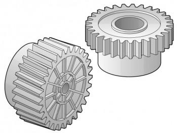 HVAC gears