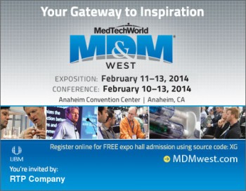 Free MD&M West Admission